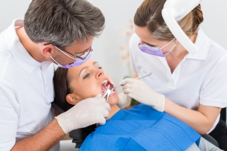 Tooth extraction (pulling)